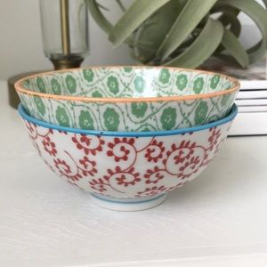 Anthropologie Small Bowls